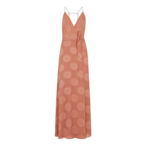Noa Jacquard Maxi Dress, ${color}