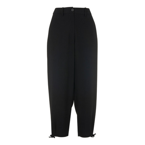 Volume Hem Fluid Trousers, ${color}