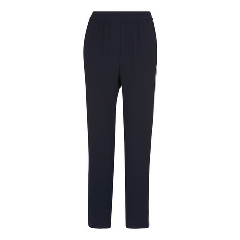 Elyse Side Stripe Trousers, ${color}