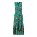 Capri Print Wrap Dress, ${color}