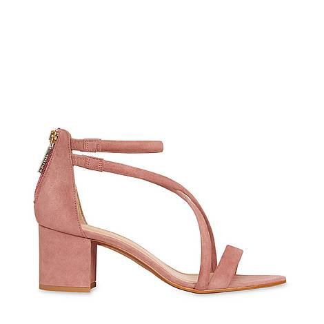 Marquelle Strappy Suede Sandals, ${color}