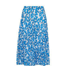 Cordillia Print Pleated Skirt
