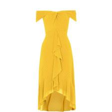 Eriko Dobby Bardot Dress