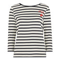 Mon Cheri Striped Top, ${color}