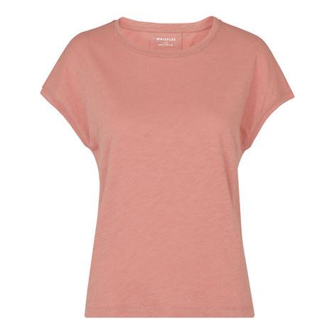 Minimal Drop Shoulder T-Shirt, ${color}