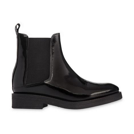 Patent Chelsea Boots, ${color}