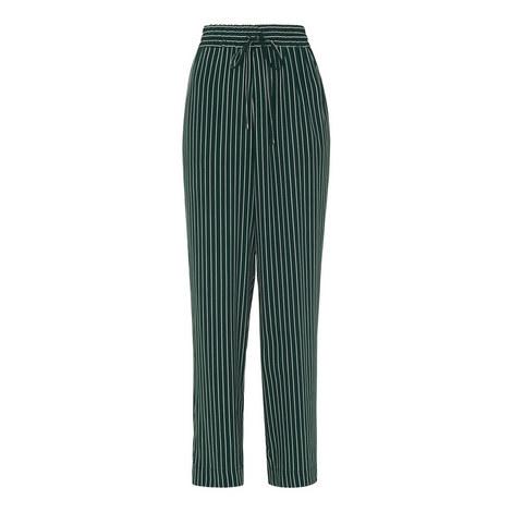 Stripe Wide Leg Trousers, ${color}