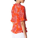 Palmyra Print Wrap Top, ${color}
