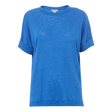 Short Sleeve Linen T-Shirt, ${color}