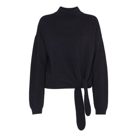 Merino Tie Side Sweater, ${color}