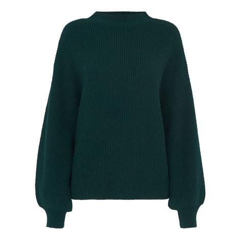 Full Sleeve Rib Sweater, ${color}