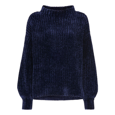 Chenille Full Sleeve Sweater, ${color}