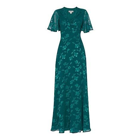 Robyn Jacquard Maxi Dress, ${color}