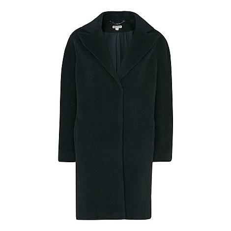 Jara Drawn Cocoon Coat, ${color}