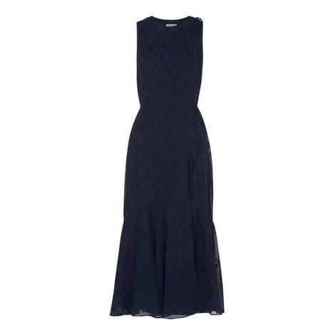 Adriane Star Jacquard Dress, ${color}