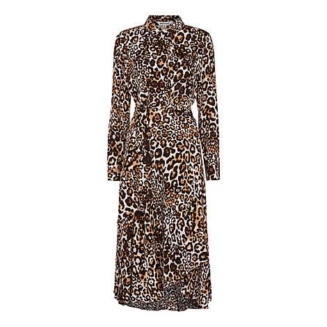 Animal Print Esme Dress, ${color}