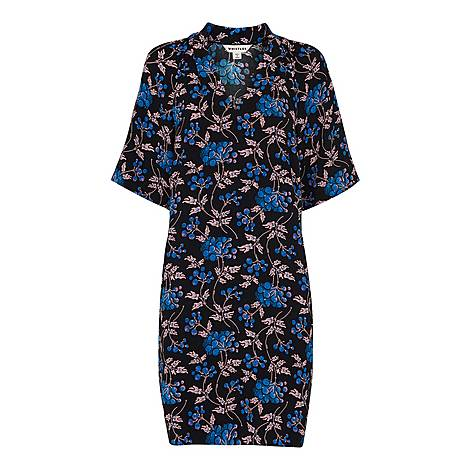 Elderberry Print Devyn Dress, ${color}