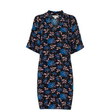 Elderberry Print Devyn Dress