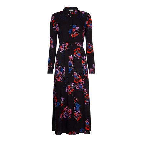 Freya Print Shirt Dress, ${color}