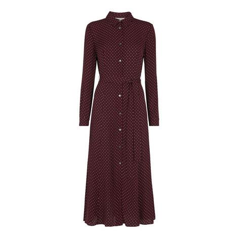Margot Spot Shirt Dress, ${color}