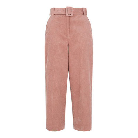 Cord Belted Trouser, ${color}