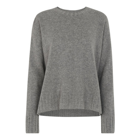 Cashmere Round Neck Sweater, ${color}