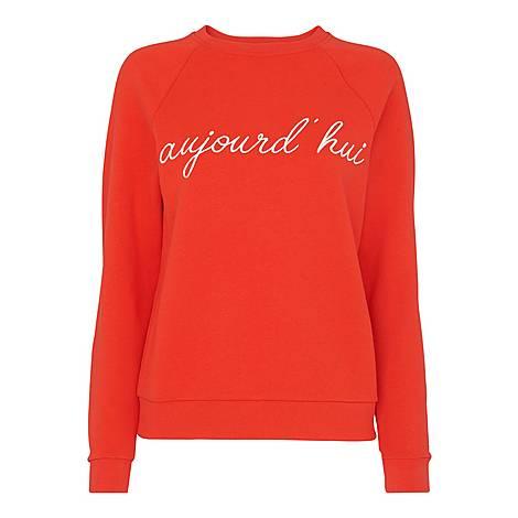Aujourd Hui Sweatshirt, ${color}