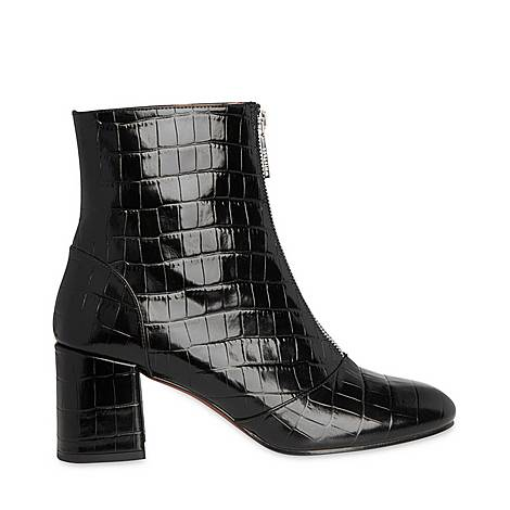 Rowan Croc Zip Front Boots, ${color}