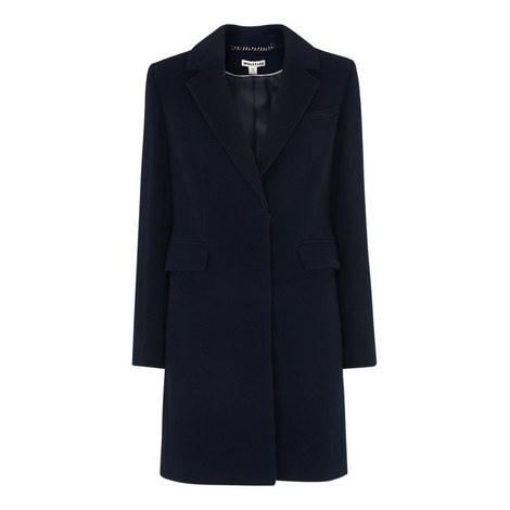 Tailored Wool Coat, ${color}