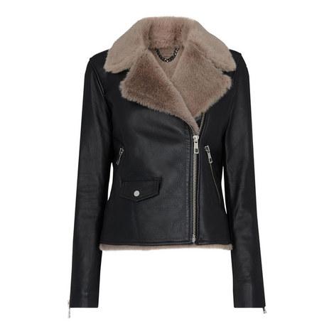 Faux Fur Lined Agnes Jacket, ${color}