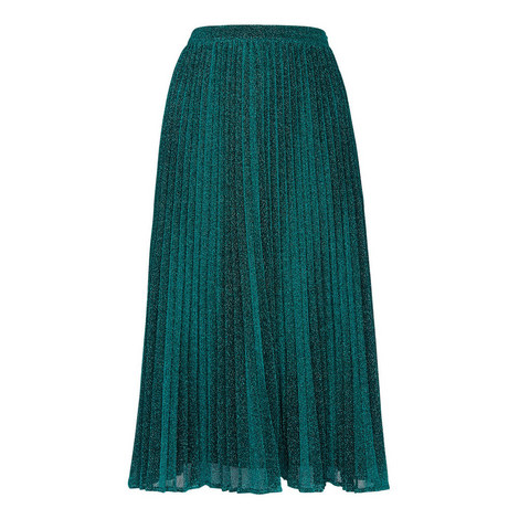Sparkle Pleated Skirt, ${color}
