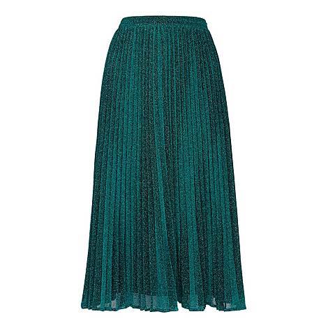 Sparkle Pleated Skirt, ${color}