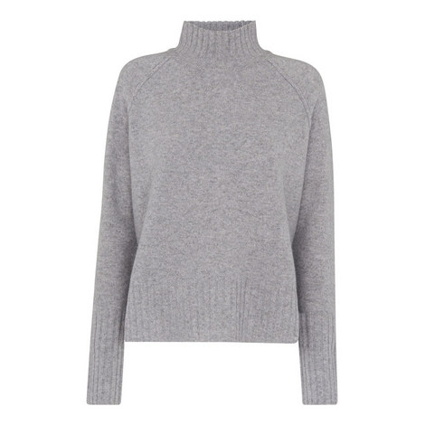 Funnel Neck Wool Sweater, ${color}