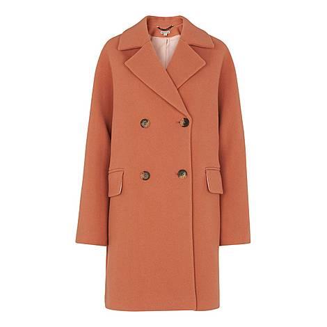 Wide Sleeve Coat, ${color}
