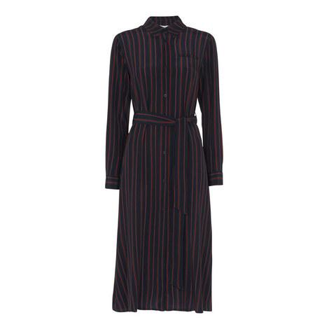 Stripe Shirt Dress, ${color}