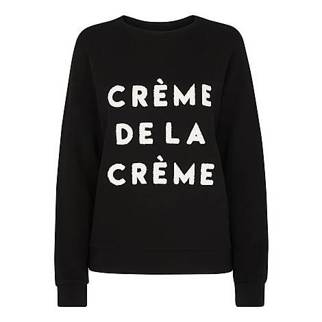 Crème De La Crème Sweatshirt, ${color}