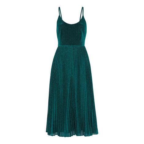 Regina Sparkle Pleated Dress, ${color}