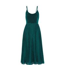 Regina Sparkle Pleated Dress