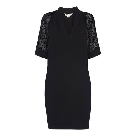 Lina Dobby Sleeve Dress, ${color}