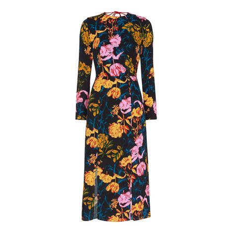 Digital Bloom Bella Dress, ${color}