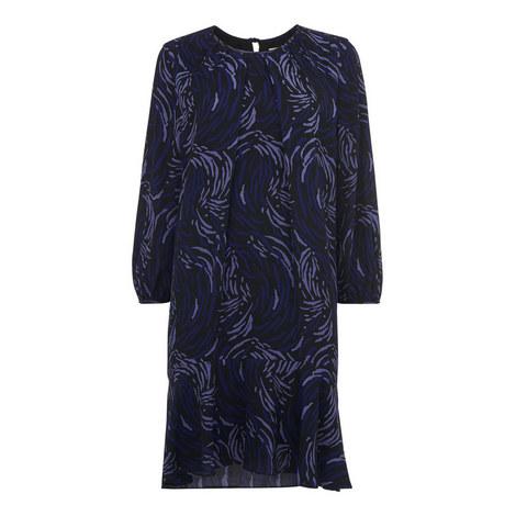 Renata Reed Print Dress, ${color}