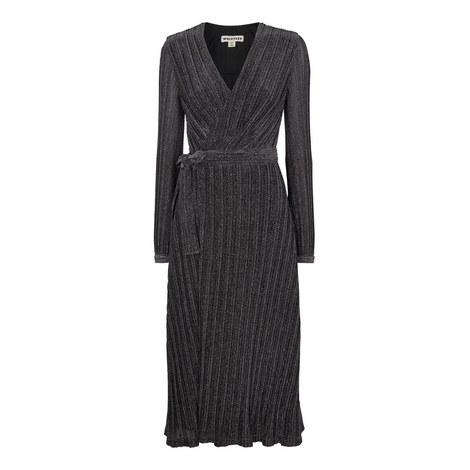 Maia Sparkle Wrap Dress, ${color}