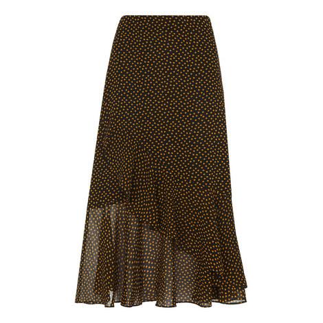 Confetti Heart Frill Skirt, ${color}