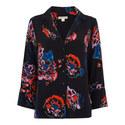 Freya Print Pyjama Shirt, ${color}