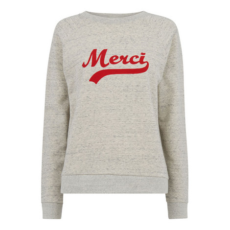 Merci Embroidered Sweatshirt, ${color}