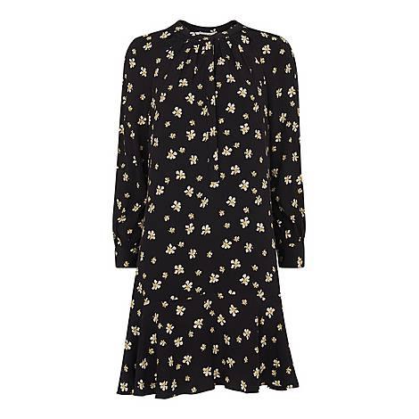 Edelweiss Print Shirt Dress, ${color}