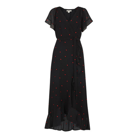 Heart Embroidered Maxi Dress, ${color}