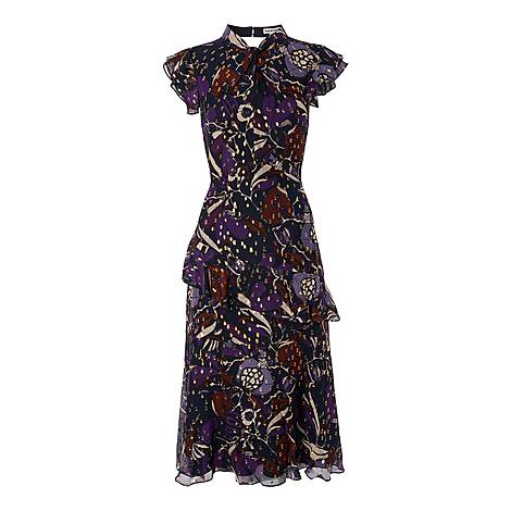 Montrose Dobby Midi Dress, ${color}