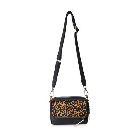 Bibi Leopard Crossbody Bag, ${color}