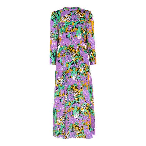 Simone Floral Print Dress, ${color}